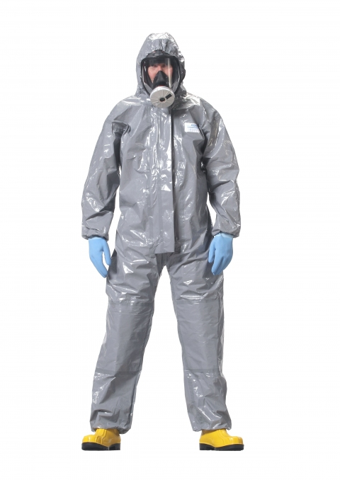 Chemical Warfare agents testing on RSG CHEM 3 coverall